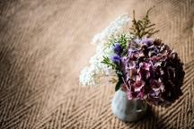 Milk Churn with flowers.