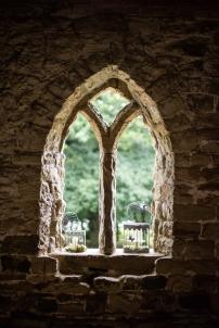 Beautiful Abbey style windows.