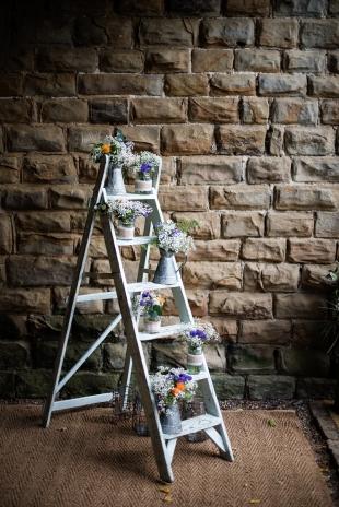 Vintage ladder.